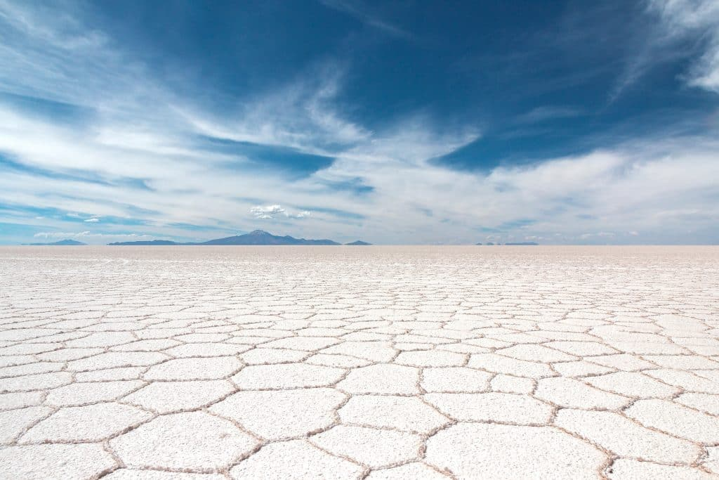 Interesting facts about Bolivia the salt flats