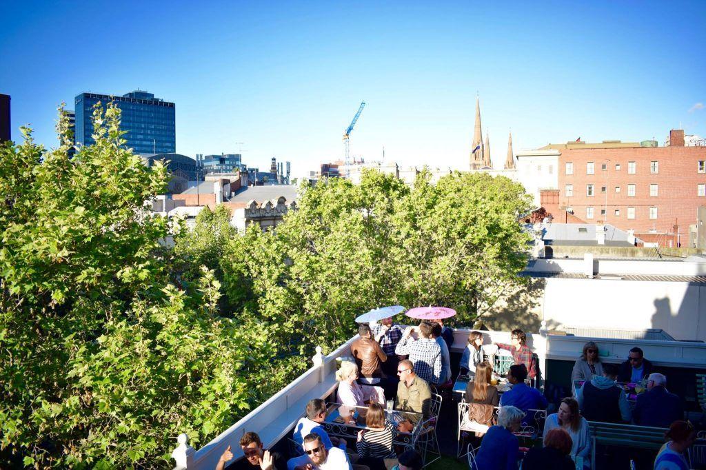 Madame Brussels Rooftop Bar Melbourne