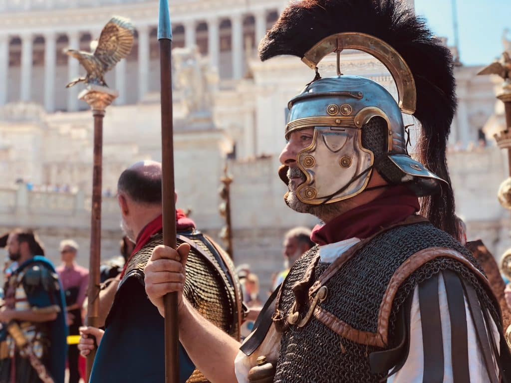 Rome is famous for the Roman Empire