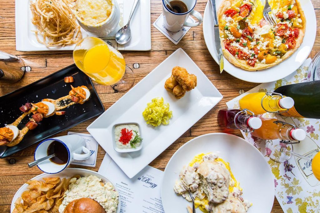 a'Bouzy brunch one of the most romantic restaurants in Houston