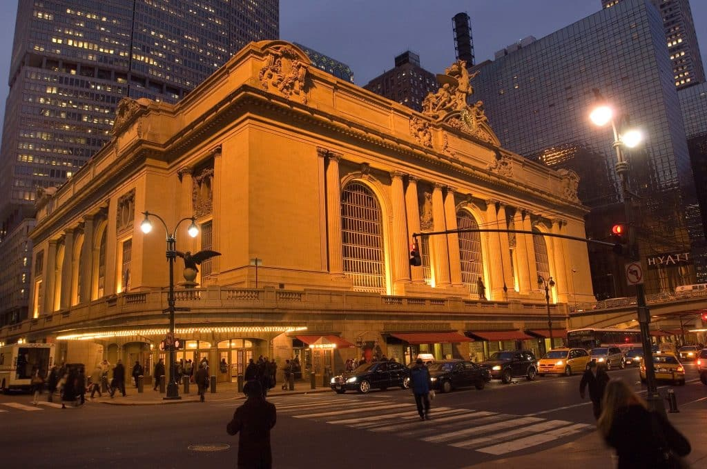 Grand Central Terminal Exterior Romantic things to do New York