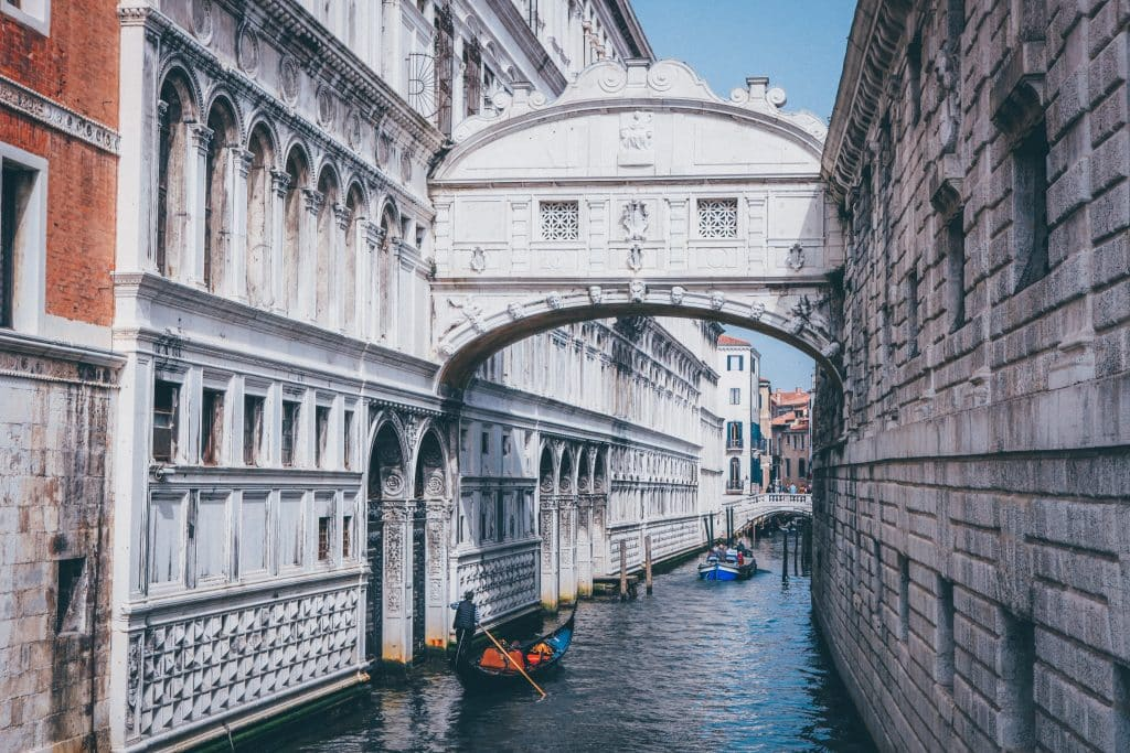 Things venice is famous for include its bridges