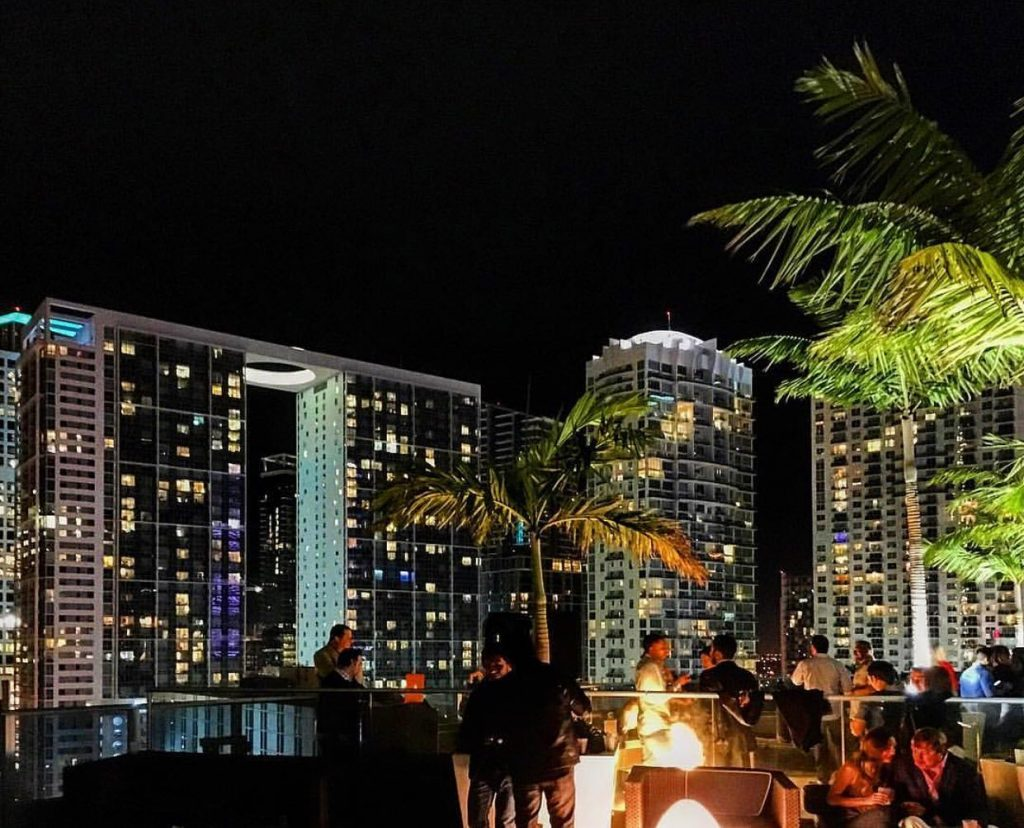 rooftop bars miami