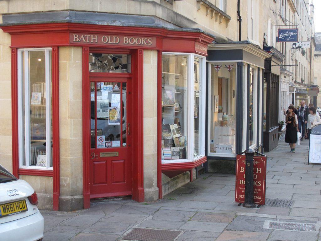 Best Bookshops in Bath Bath Old Books