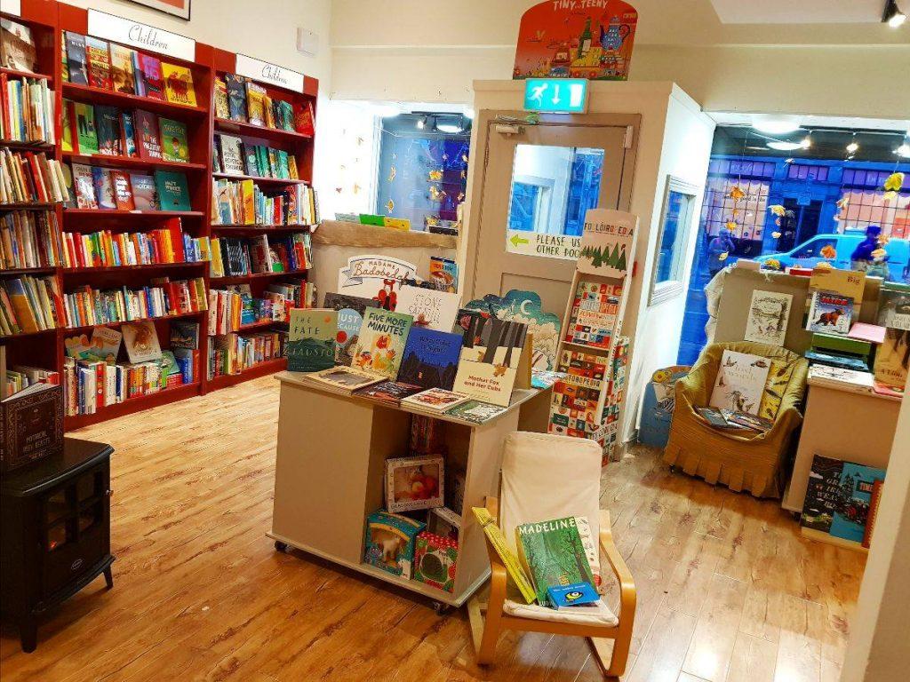 Best Bookshops in Dublin Books Upstairs