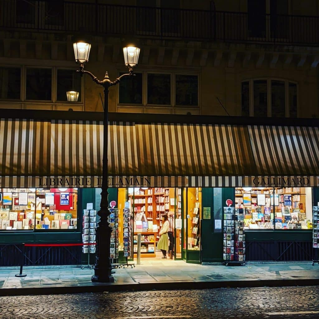 Best Bookshops in Paris Delamain