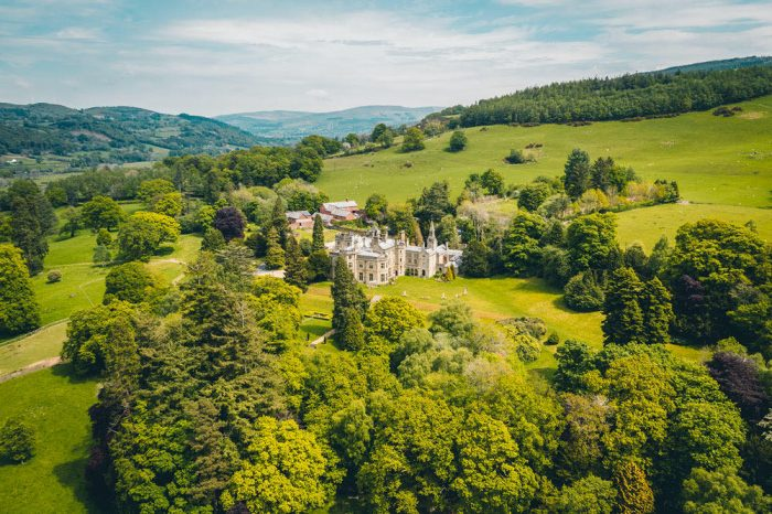 Best Country House Hotels in Wales Pale Hall