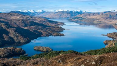 most beautiful lakes scotland