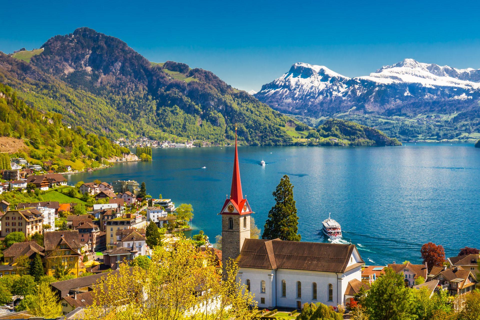 most beautiful lakes switzerland