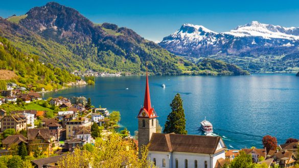 most beautiful lakes switzerland