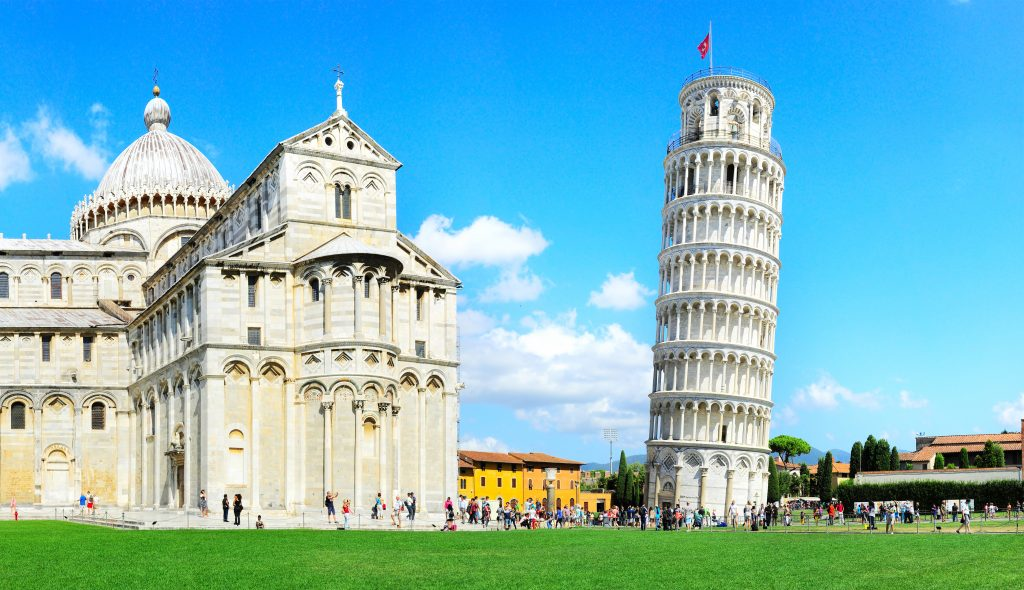 famous monuments in Italy
