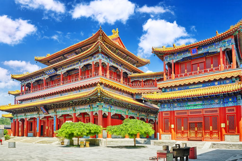 famous monuments china