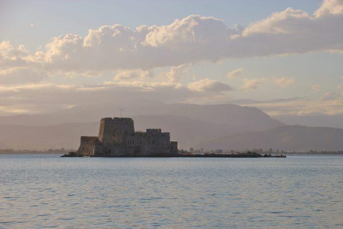 Most famous monuments in Greece Bourtzi Castle