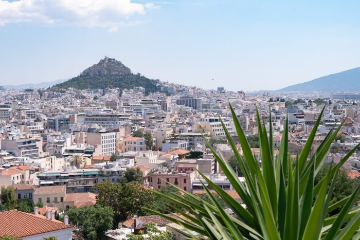 Most famous monuments in Greece Mount Lycabettus