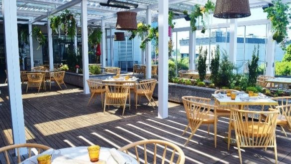 Best rooftop bars Washington
