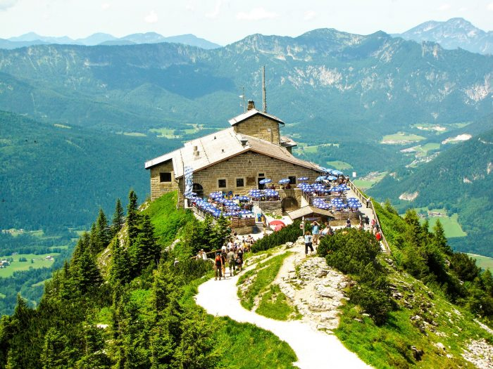 The most famous monuments in Germany The Eagle's Nest