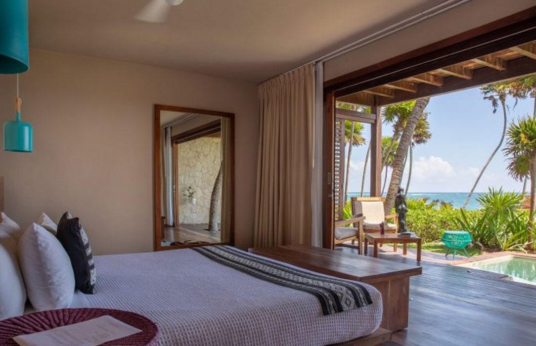 Best boutique hotels in Tulum Mi Amor
