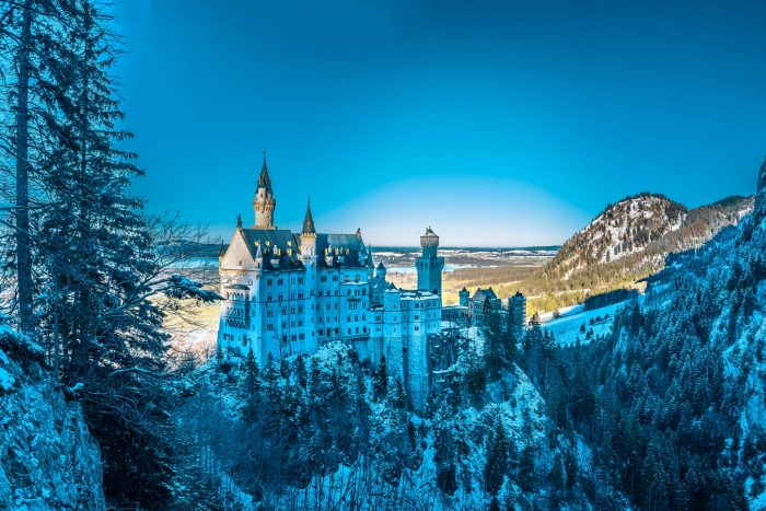 The most famous monuments in Germany Castle