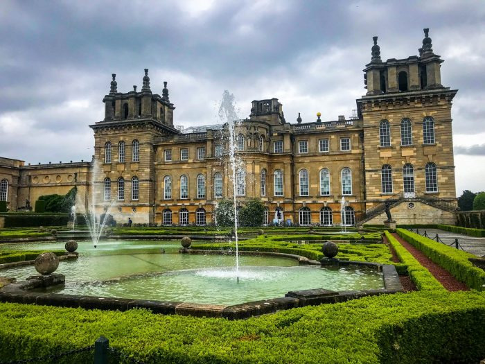 Cotswolds famous for Blenheim Palace