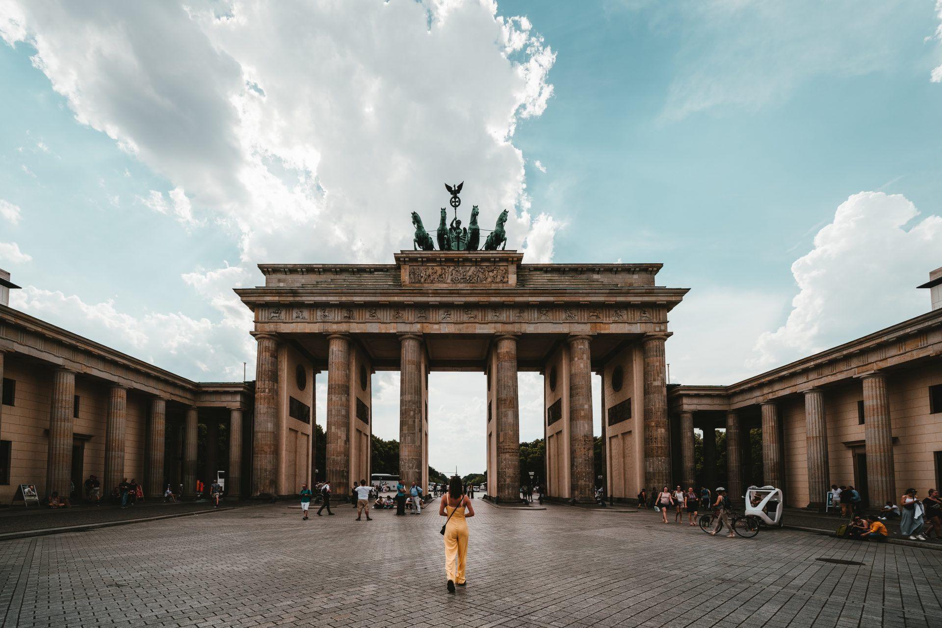 The most famous monuments in Germany Gate