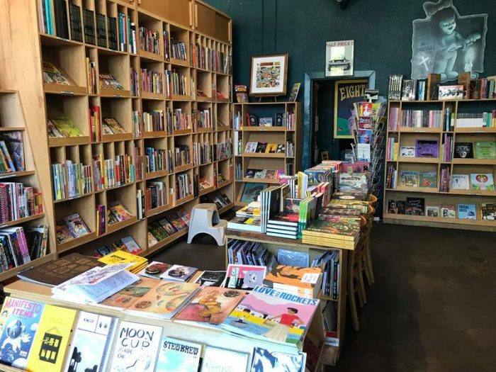 Best bookstores in Seattle Fantagraphics