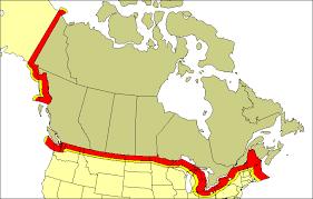 America Canada border