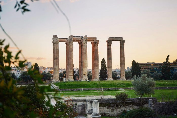 Most famous monuments in Greece