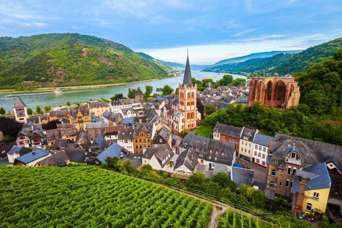 The most charming small towns in Germany Bacharach