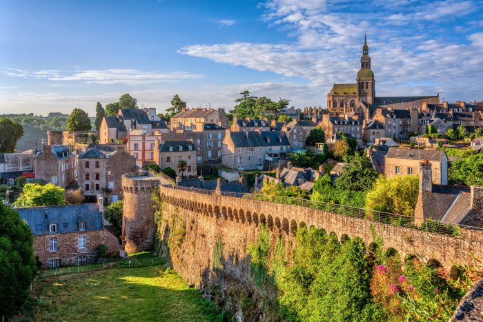 The most charming small towns in France Dinan
