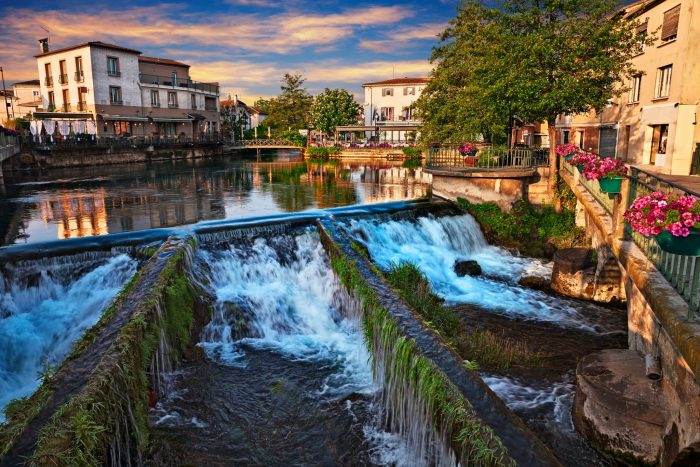 The most charming small towns in France Sorgue