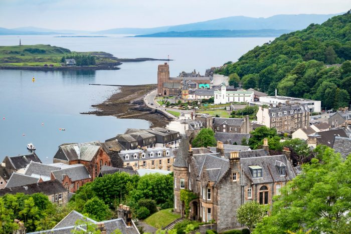 The most charming small towns in Scotland Oban