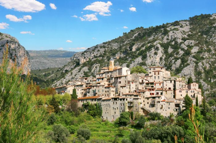 The most charming small towns in France Peillon