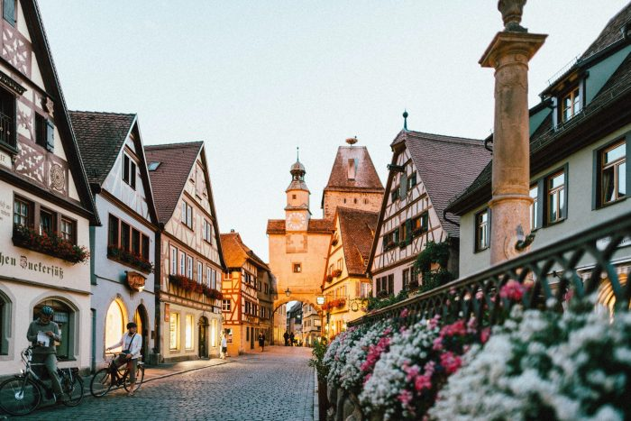 The most charming small towns in Germany Rothenburg ob der Tauber