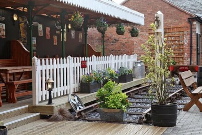 Vest beer gardens England