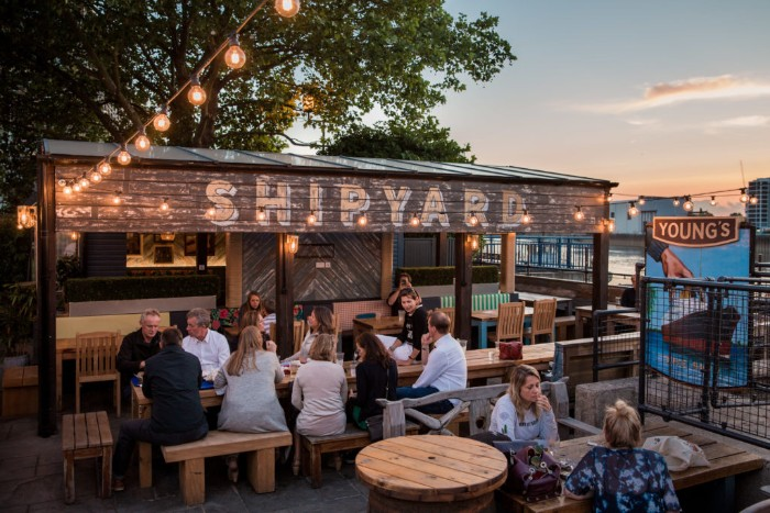Best pub gardens England