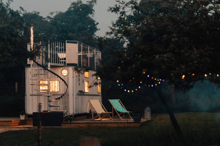 Best glamping spot Cotswolds
