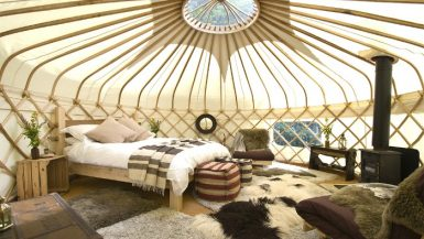 Best glamping spots Cotswolds