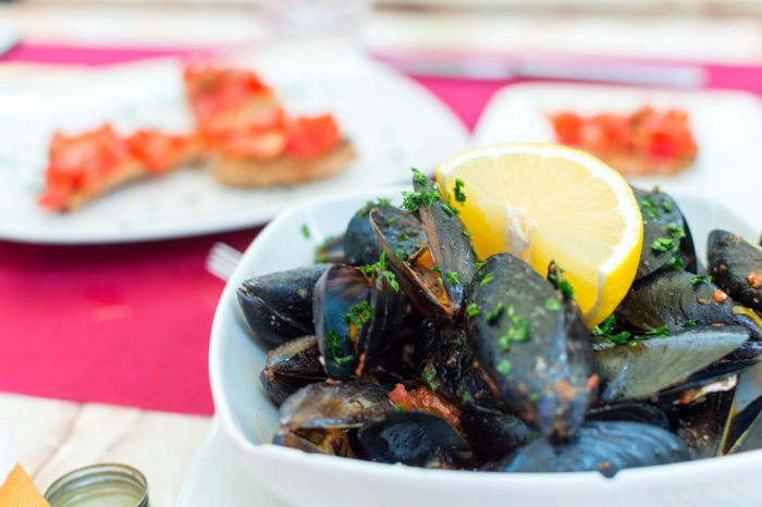 Mussels in Italy