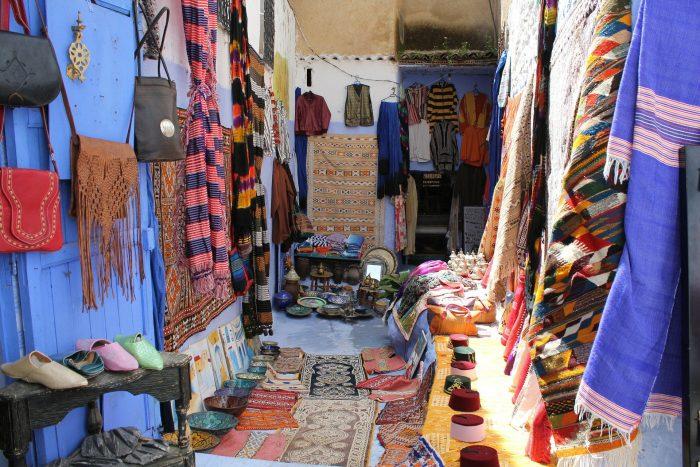 Morocco shopping