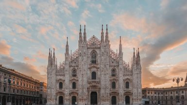 Duomo Cathedral Square, Milan, Metropolitan City of Milan, Italy