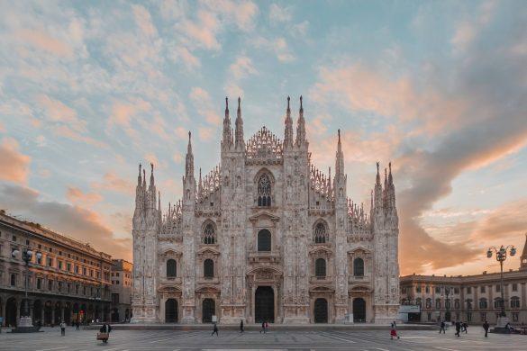 Duomo Cathedral Square, Milan, Metropolitan City of Milan, Italy