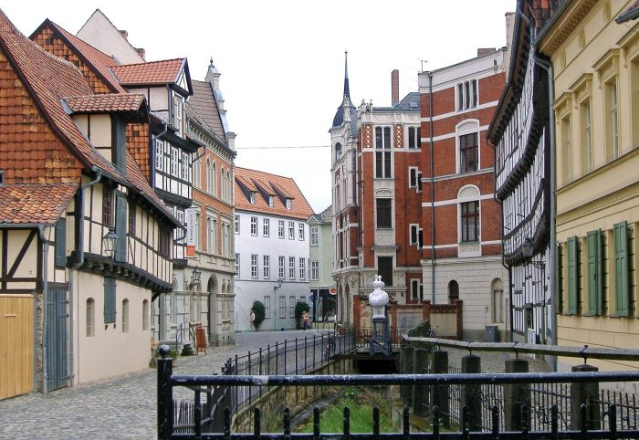 The most charming small towns in Germany Quedlinburg