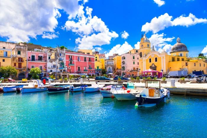 Idyllic island Italy