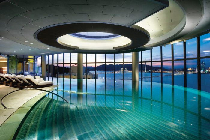 Best hotel pools in the world