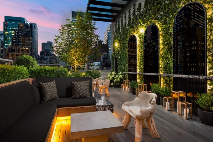 Castell best rooftop bars NYC