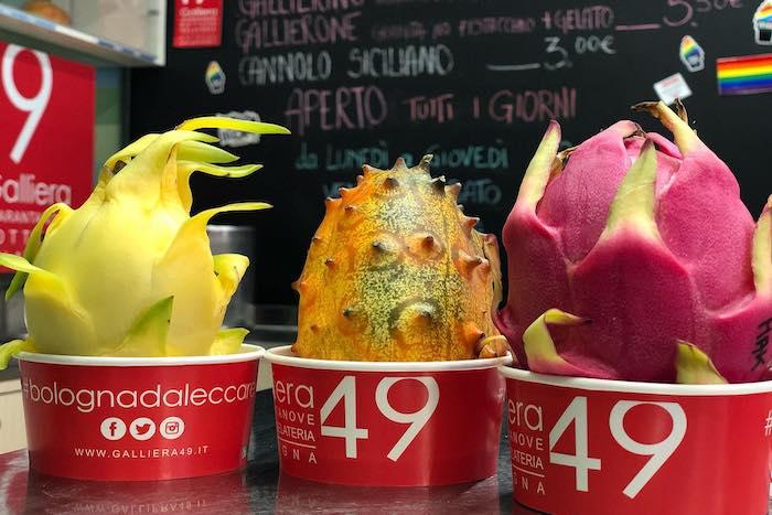 Best gelato shops Bologna
