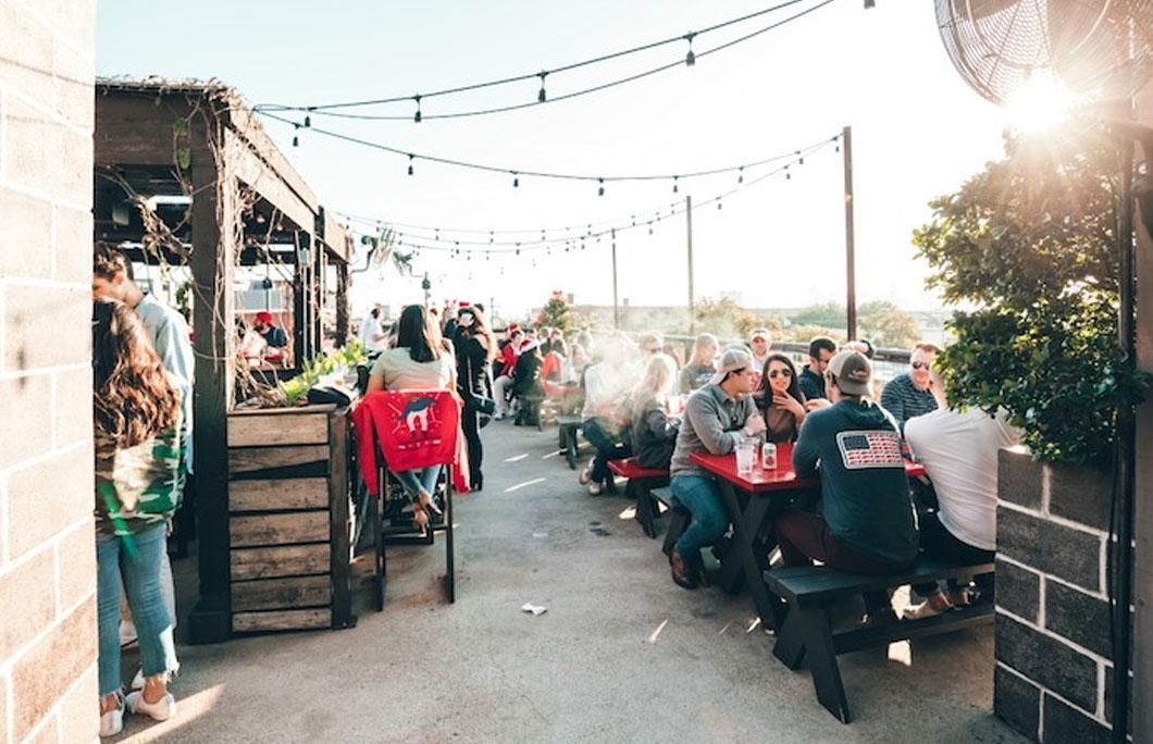 Best rooftop restaurants Dallas