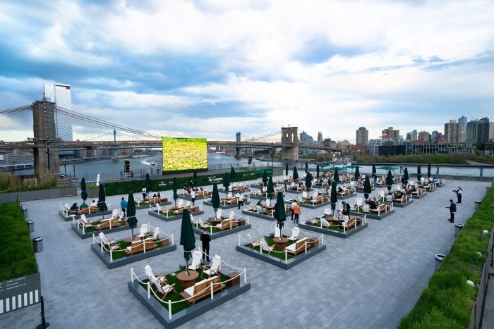 best rooftop bars nyc The Greens Pier 17