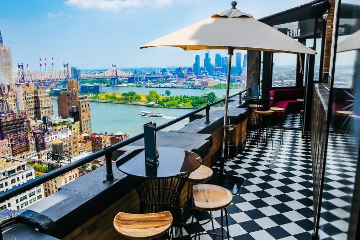 ophelia rooftop bar nyc