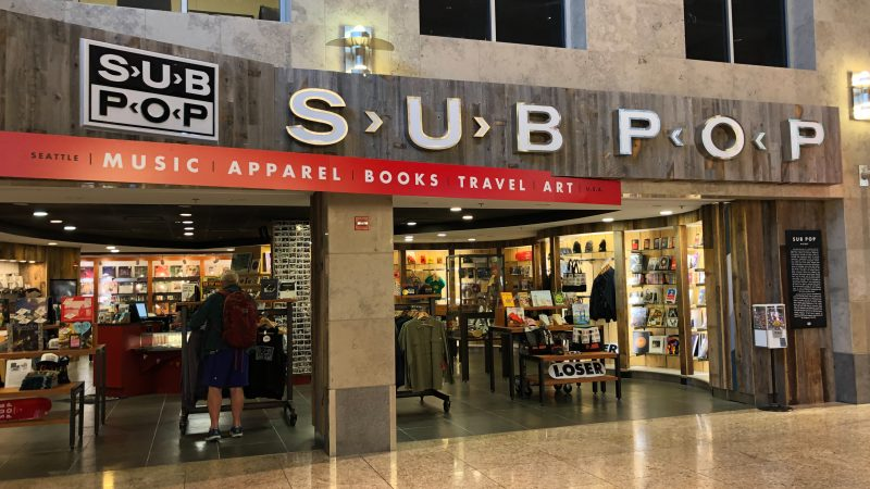 shopping Seattle airport